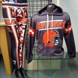 Cleveland Browns Unisex Hoodie and Leggings